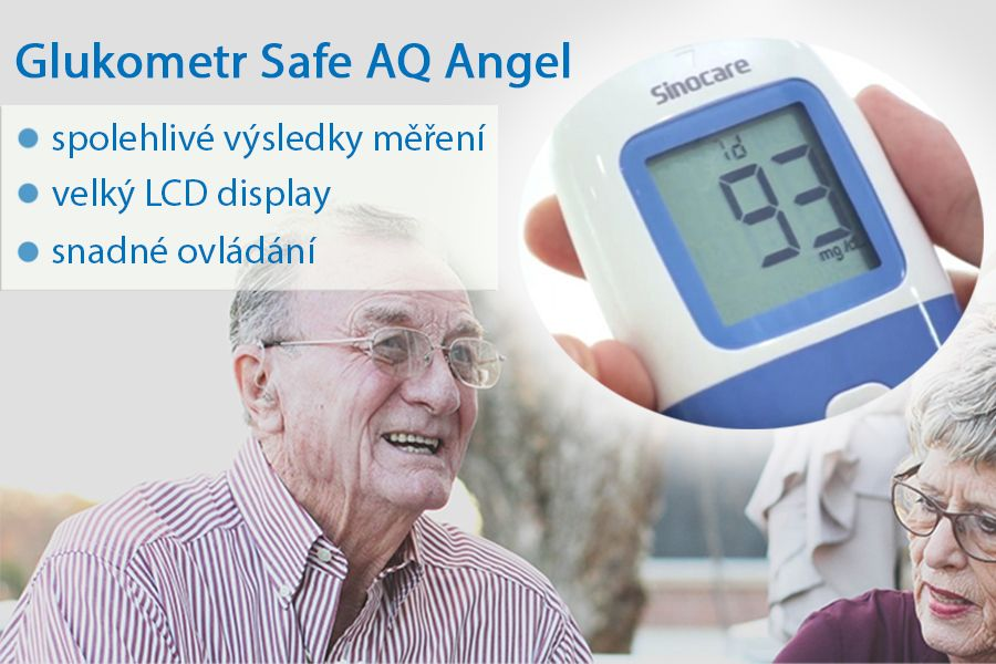 Sinocare glukometr Safe AQ Angel